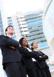 Divers Aantrekkelijk Commercieel Team Royalty-vrije Stock Foto