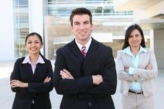 Divers Aantrekkelijk Commercieel Team Royalty-vrije Stock Fotografie
