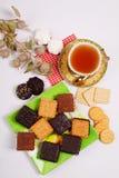 Divers biscuits Photos libres de droits