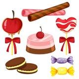 Divers bonbons Photographie stock