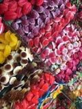 Divers bonbons colorés Images stock