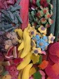 Divers bonbons colorés Images libres de droits