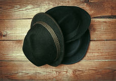 Divers chapeaux de mode Photo stock