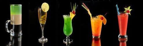 Divers cocktails photo stock