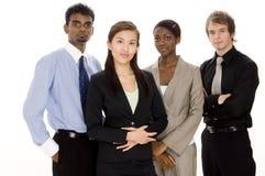 Divers Commercieel Team Royalty-vrije Stock Afbeelding