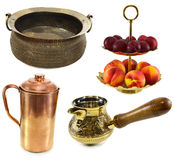 Divers dishware indien 2 images stock