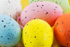 Divers easter eggs Royalty Free Stock Images