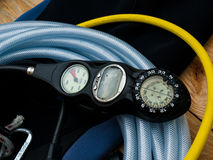 Divers Equipment Stock Photography