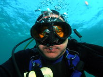 Divers Face Stock Photo