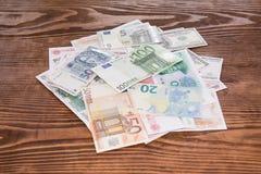 Divers fond de monnaie fiduciaire du monde Photos stock