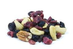 divers fruit et noix Images libres de droits