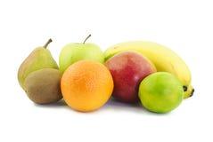 Divers fruits délicieux Image libre de droits