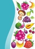Divers fruits et légumes Photographie stock