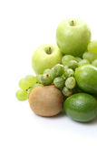 Divers fruits verts photo stock