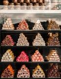 Divers genre de pâtisserie de baklava, dessert turc traditionnel photographie stock