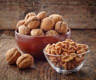 Divers genres de noix Photo libre de droits