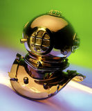 Brass Divers Helmet Royalty Free Stock Image