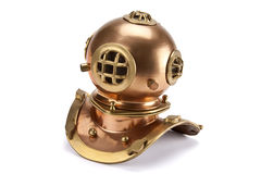 Divers Helmet - Isolated Royalty Free Stock Images