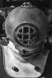 Divers helmet Stock Images