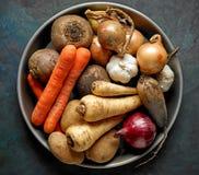 Divers légumes organiques images stock