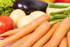 Divers légumes en gros plan Photographie stock