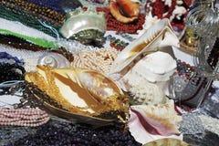 Divers materiaal op verkoop in Nice, Frankrijk Stock Foto's