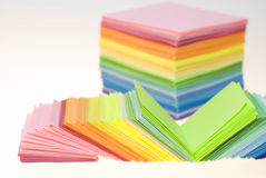 Divers papier de couleur Image stock