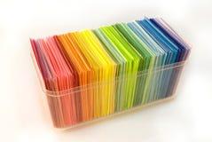 Divers papier de couleur photos stock