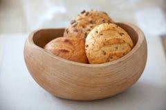 Divers petits pains de pain photo stock