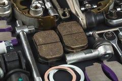 Divers pièces et outils de voiture image libre de droits