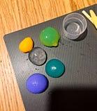 Divers polo d'eau coloré photos libres de droits