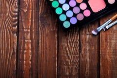 Divers produits de maquillage Photo libre de droits