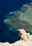Divers in Red Sea (Sharm-el-Sheik) Stock Images