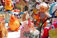Divers speelgoed Royalty-vrije Stock Foto's