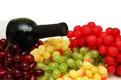 Divers tris des raisins photographie stock