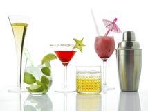 Cocktails en Alcoholische Dranken royalty-vrije stock foto
