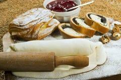 Divers types de biscuits cuits au four Photographie stock libre de droits