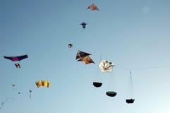 Divers types de cerfs-volants Images libres de droits