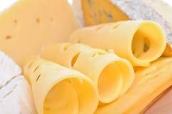 Divers types de composition de fromage Photographie stock