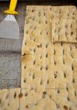 Divers types de gâteaux salés liguriens tipical Photo libre de droits