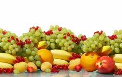 Diversa aún-vida de la fruta Foto de archivo libre de regalías