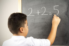 Diversa fórmula de la matemáticas imagen de archivo
