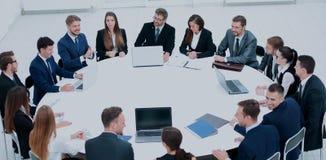 Diversa gente di affari che incontra concetto di seminario Immagine Stock