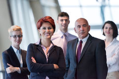 Diversa gente di affari del gruppo all'ufficio Fotografia Stock Libera da Diritti