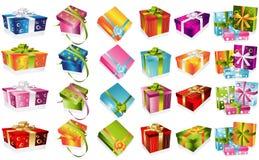 Diversa ilustración de los regalos ilustración del vector