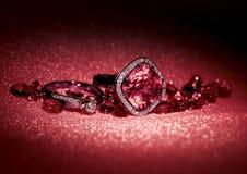 Diversa joyería Foto de archivo libre de regalías