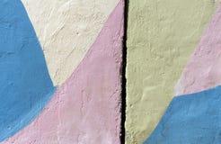 Diversa textura de la pared del yeso del color Imagenes de archivo