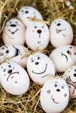 Diversas caras de la emoción Imagen de archivo libre de regalías