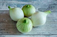 Diversas cebolas frescas Fotografia de Stock Royalty Free