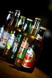 Diversas cervezas Fotos de archivo libres de regalías